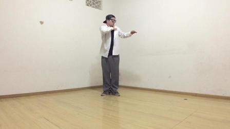popping机械舞震感舞, 日常跟音乐练习