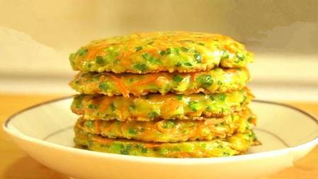 早餐饼最好吃的做法, 简单快速, 5分钟做好, 比包子油条好吃多了