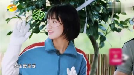 """向往的生活第二季: 何炅向黄磊介绍沈月, 是个""""腿短的小可爱"""""""