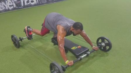 老外打造奇葩健身器, 趴着锻炼全身肌肉, 网友: 蛤蟆功?