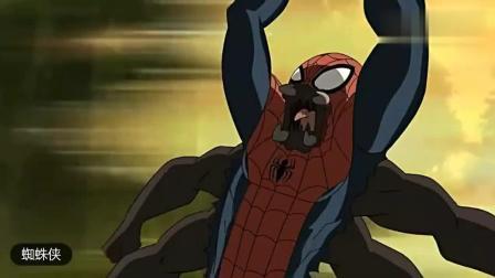 终极蜘蛛侠, 蛮荒蜘蛛侠打败金刚狼然后跑回蛮荒之地深处!