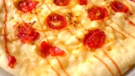 不加芝士也能好吃到爆的披萨, 用平底锅就能做, 方法简单, 超爱吃