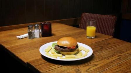 """从黑板里""""抠""""出来的汉堡,你敢吃吗?"""