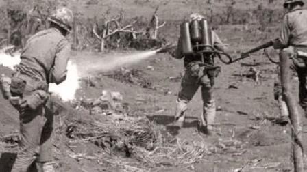 日本兵擅长钻洞打不死, 美国想出一个残忍法子, 把日本兵治得死死的!
