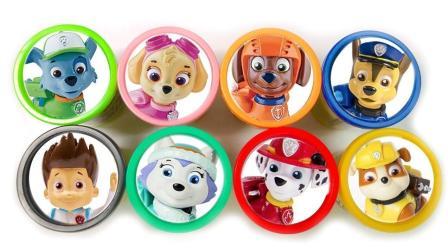 汪汪队立大功第四季: 培乐多彩泥学英语, 你会选哪一个玩具呢?