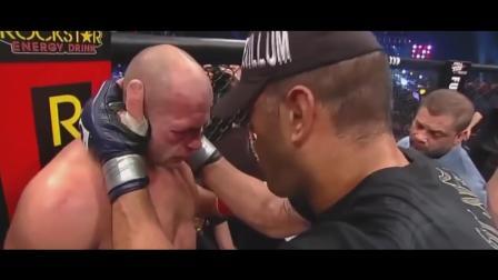 格斗赛场不仅是拳拳到肉的肉搏 还有尊重与体育精神