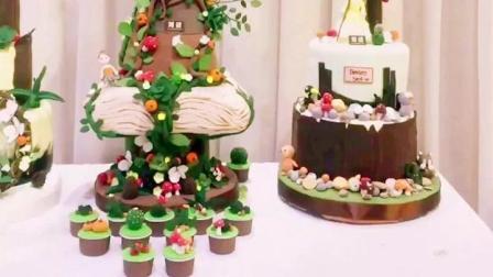 收集了刘清西点蛋糕学校创意翻糖蛋糕, 快来看看!
