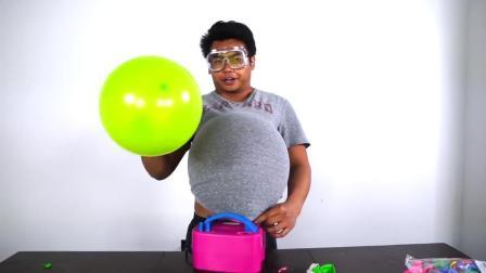 气球贴身爆炸是什么感受? 国外小哥亲身体验, 不作死就不会死!