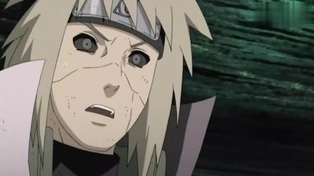 火影忍者: 水门看到鸣人有危险脸色都变了! 而且不知觉的就单手结印?