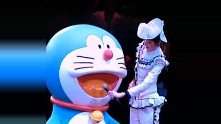 陈慧琳现场演唱《多啦A梦》主题曲粤语版都是童年回忆