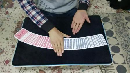 luwichen原创魔术流程: 扑克牌色源传染, 为什么每张扑克牌会变色呢? 看luwichen魔术表演!