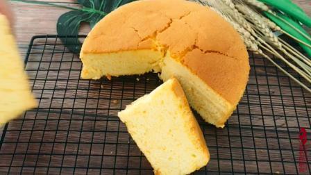烘焙新手适合做戚风蛋糕, 失败率很低, 南瓜配蜂蜜的戚风蛋糕, 营养又美味
