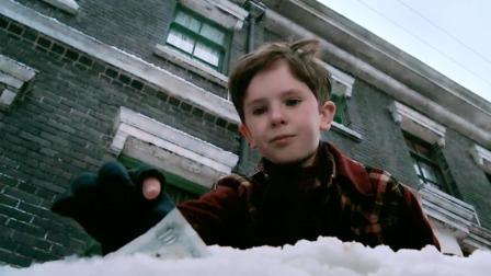 小男孩马路边捡到一张钱, 意外成为幸运儿, 并成功继承巧克力工厂