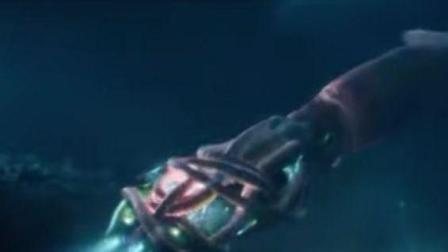 美女潜艇深海被巨型章鱼袭击