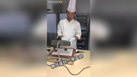 糖艺蛋糕 黑天鹅制作工艺