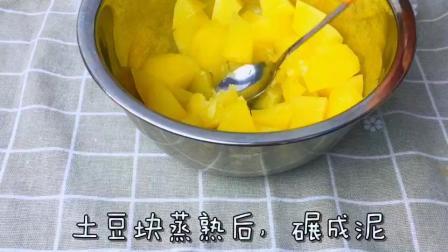 #万圣节搞怪食谱##美食##家常菜#火腿土豆芝士棒! 这样吃比