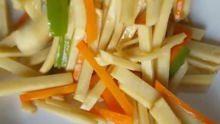 新鲜竹笋的家常做法怎么做好吃, 清香可口, 看完就知道