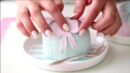 简单却美丽的ins风蛋糕! 小公主风格!