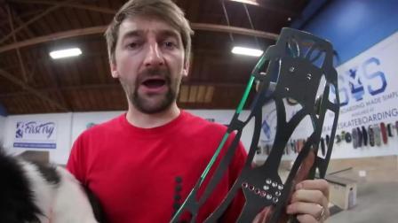 长板Can we Break the Ultraflex Skateboard! !  You Make it We Skate it Ep. 232