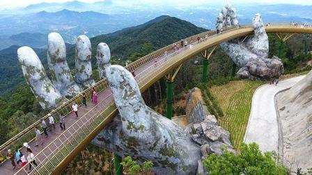 """最神奇的大桥, 像""""如来神掌""""耗资135亿打造, 成世界网红桥"""