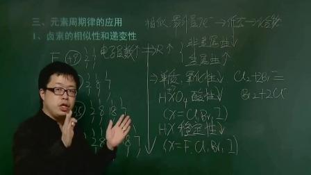 高中化学必修二:物质结构元素周期律讲解化学原来如此简单