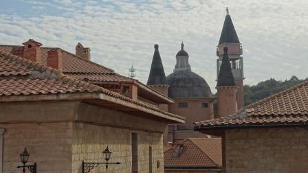异国风情的长沙华谊电影拍摄基地-意大利小镇