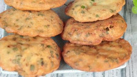 闽南名小吃, 葱油饼的家常做法, 咬一口满嘴香, 一大盘不够吃