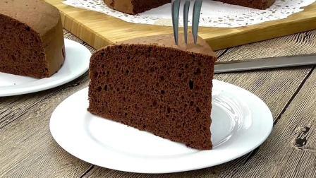烹饪美食: 制作巧克力海绵蛋糕