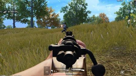 狙击手麦克: 机瞄王者降临! 98K盲狙15连杀, 近战无对手!