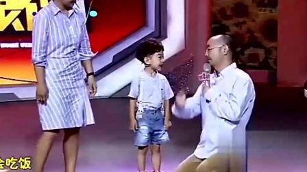 5岁萌娃不识数 说不过刘仪伟就戳他痛点 扎心啊!