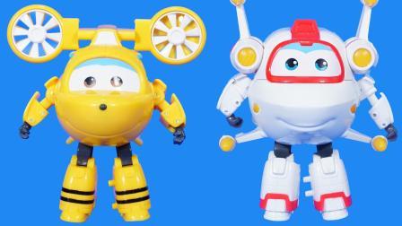 超级飞侠的三位新成员变形玩具