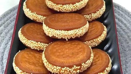 南瓜糯米饼, 三分钟教会你怎么做, 饭前饭后小甜点
