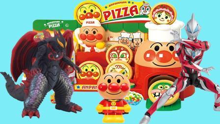 奥特曼玩具, 贝利亚来面包超人披萨店捣乱, 捷德大战贝利亚