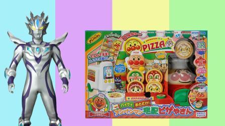 面包超人披萨店玩具, 赛罗奥特曼送外卖给捷德