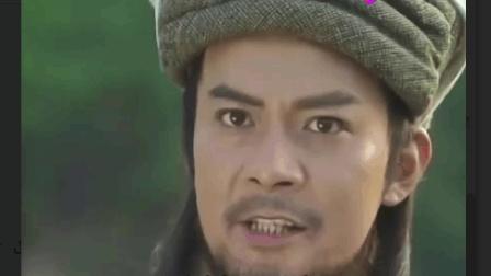 段延庆想杀段王爷, 乔峰看不下去了, 想杀他先问下我的降龙十八掌