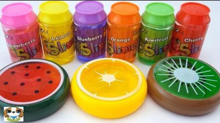 水果味凝胶糖果制作微波炉西瓜橙子猕猴桃冰激凌儿童早教学习颜色