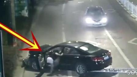 女司机抱着狗开车, 下一秒就酿成了苦果!