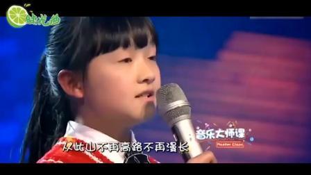 韩红以为小女孩唱不了《天路》, 结果一开口全场沸腾, 被打脸了