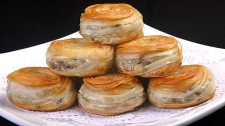 香酥牛肉饼的做法, 饼皮酥脆, 内里鲜香味美, 做法简单家常, 好吃不用买