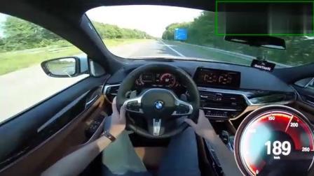 宝马6系GT高速驾驶测试, 性能轿跑开到极速都不飘呐