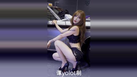 韩国车站性感模特
