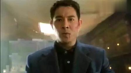 三大动作巨星给李连杰添足了面子, 想当年邹兆龙还是个小配角