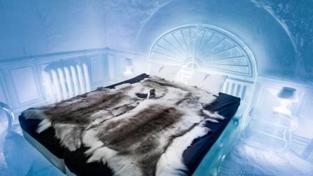 全球最变态的酒店, 睡在冰块上, 游客冻得直打哆嗦!