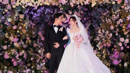 唐嫣婚纱照流出, 美得像花丛中的精灵! 这才是婚礼应该有的样子!