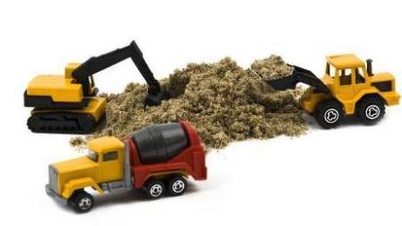 大脚车越野 赛车总动员 挖掘机 推土机 吊车 大卡车 汽车总动员动画片中文版