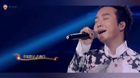 李玉刚独唱《雨花石》, 一人分饰两角, 唱功惊艳四方
