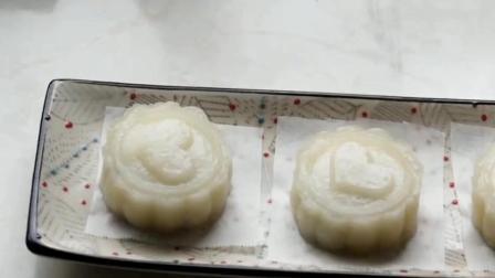用一碗西米做月饼, 做法简单无添加, 吃着放心, 不用出去买了