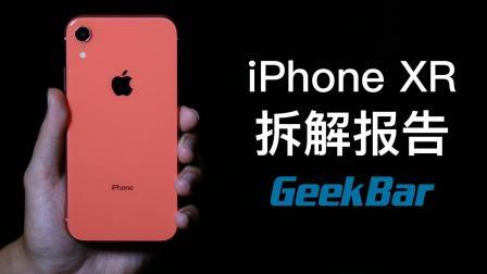 单层主板+导热硅胶, iPhone XR拆解报告