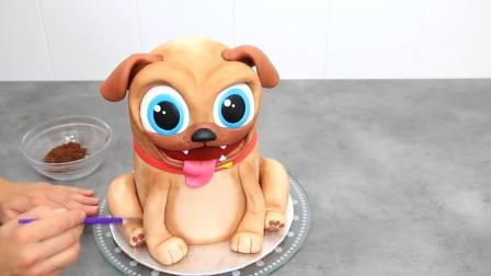 属狗的宝宝看过来, 牛人把狗狗做成翻糖蛋糕, 你知道它叫啥吗?