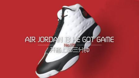 「AE评测 开箱上脚三分钟 第175期」air jordan 13 he got game 货号414571-104